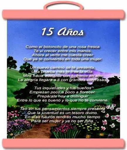 Felicitaciones de cumpleaños para quinceañeras