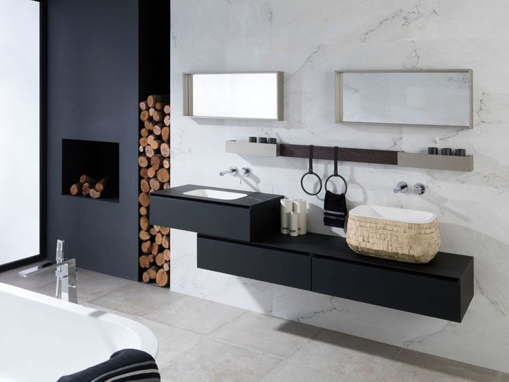 Image Of Soft Collection Minimalist beauty u technological finishes in the new modular bathroom furniture by Gamadecor
