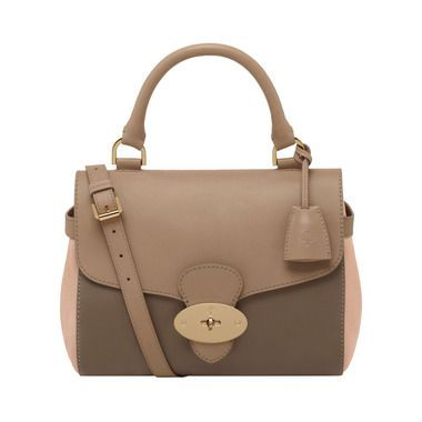 Mulberry Gift Kaleidoscope | Ballet Pink - Primrose in Mushroom Grey, Taupe With Ballet Pink Soft Tan & Suede