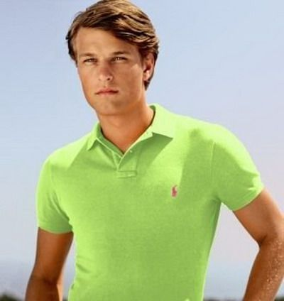 Ralph Lauren Slim Fit Polo Shirt Lawn Green [Shop 2338] - $39.76 : Cheap