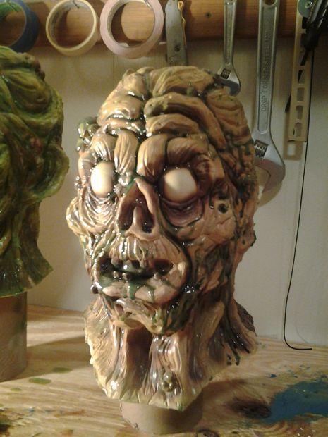 Making custom latex halloween masks on a budget (Instructable Link - Tutorial)