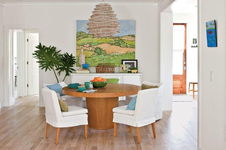 Ide Desain Ruang Makan Minimalis Modern Menyatu Dengan Ruang Keluarga