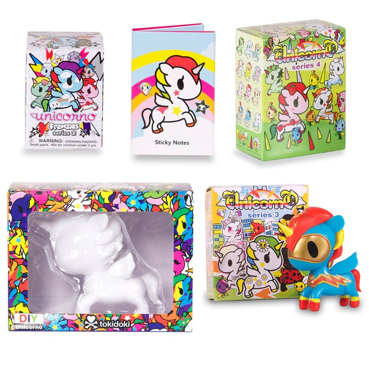 Unicorno by Tokidoki - Pop Unicorn Vinyl Figurines, Blind Boxes & Accessories #Tokidoki