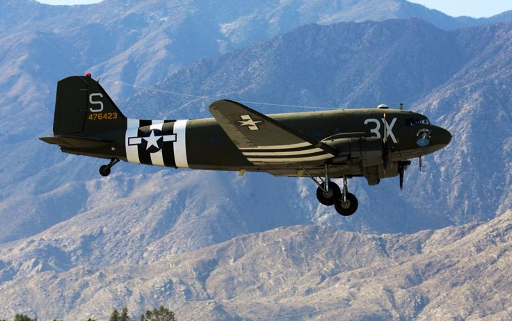 C-47 at Palm Springs Air Museum