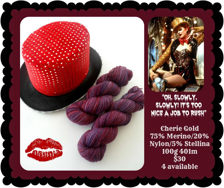Oh, Slowly, Slowly - Rocky Horror Picture Show | Red Riding Hood Yarn