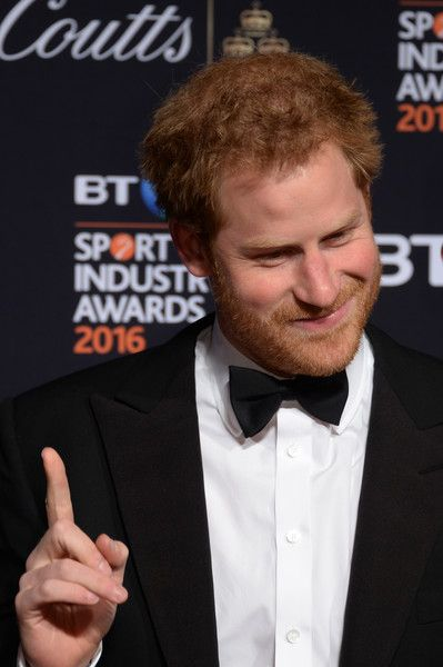 Prince Harry Photos - Prince Harry poses on the red carpet at the BT Sport Industry Awards 2016 at Battersea Evolution on April 28, 2016 in London, England. The BT Sport Industry Awards is the most prestigious commercial sports awards ceremony in Europe, where over 1750 of the industry's key decision-makers mix with high profile sporting celebrities for the most important networking occasion in the sport business calendar. - BT Sport Industry Awards 2016