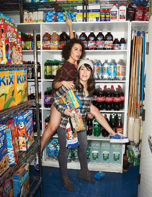 ladies of 'broad city' aka one of the greatest shows on television. SEASON 2. So good. Have missed this so much.