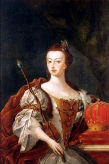 Dona Maria I, Queen of Portugal; José Leandro de Carvalho, 1808.