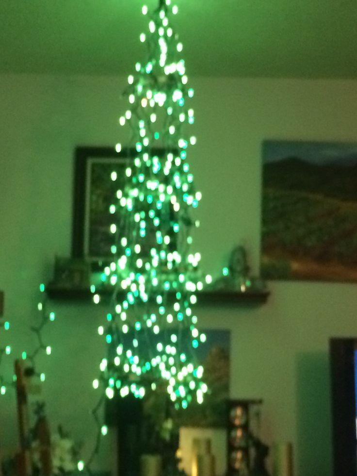 Small Lit Christmas Tree