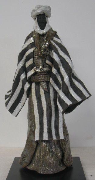 PAUL BECKRICH, sculptures, bronze, raku, ethniques, artiste sculpteur…