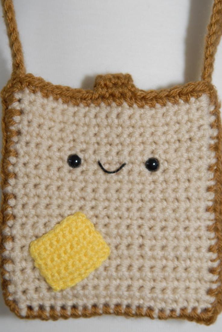 387 best crochet phone bags and small purses images on pinterest buttered toast hip crochet purse crochet by gitanaflipflops bankloansurffo Gallery