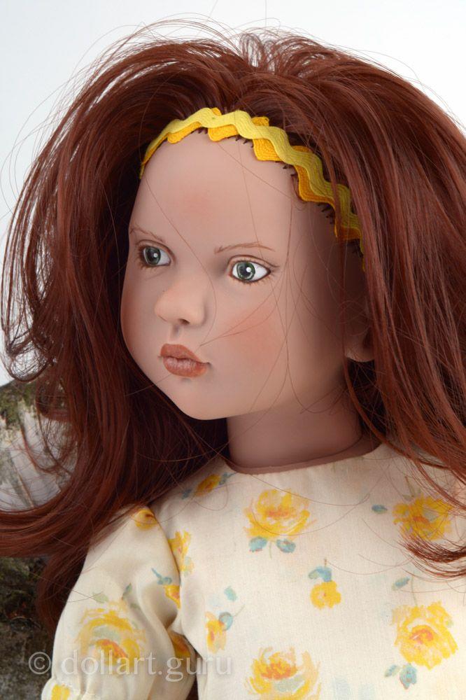 Annalena. Виниловая кукла Цвергназе | Doll Art Guru