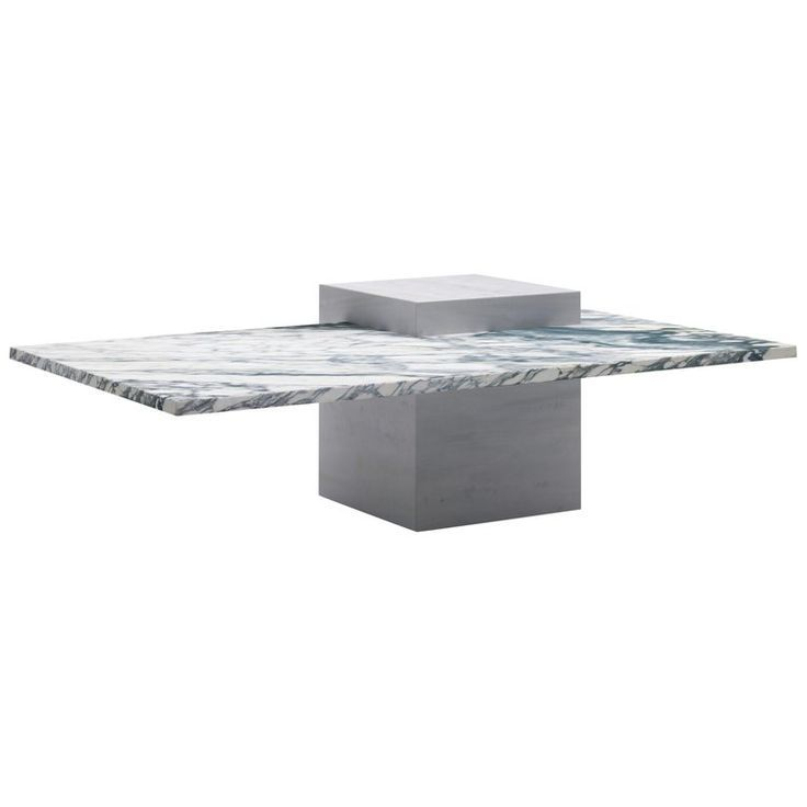 Asymmetric Marble Table With An Off Centered Leg Asymmetric Leg Marble Marble Table Top Offcent Marble Table Marble Coffee Table Marble Tables Living Room