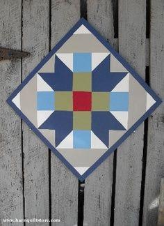 Free Barn Quilt Patterns | Farmer's Daughter Pattern Barn Quilt