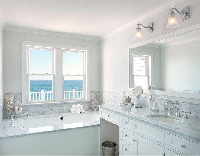 1000 images about bathrooms on pinterest gray bathrooms vanities and benjamin moore. Black Bedroom Furniture Sets. Home Design Ideas