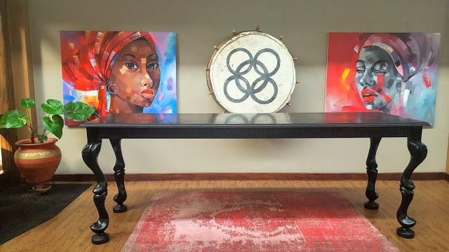 The AfroFusion Spot: Travel Diaries: My Stay in Golden Tulip Accra Hotel, art, black, african, african art, painting, woman, interior design, home decor, painting