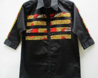 Afrikaanse Print shirt Dashiki Shirt hemd voor mannen