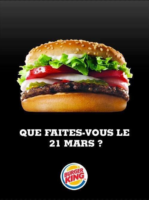 parodie seigneur des anneaux burger king