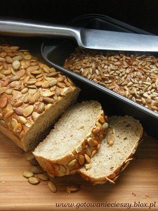 Chleb z dynią i słonecznikiem po długim weekendzie