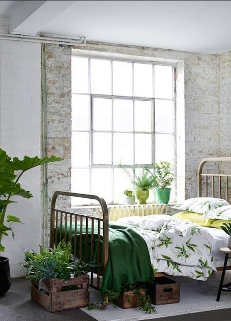 How to bring the botanical look into your home. Find this and more interiors inspriation at www.redonline.co.uk