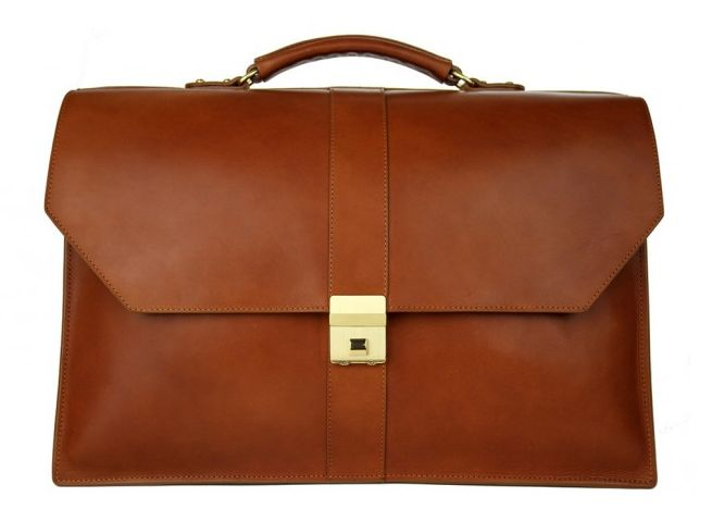 Captain's Briefcase by Frank Clegg Leatherworks