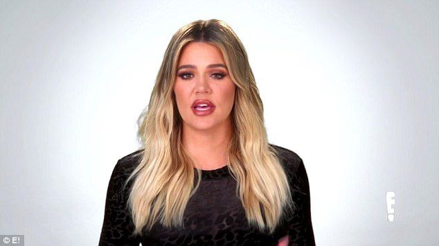 Her words: Khloe said, One of the plus of all this there's no way Rob and Chyna could get back together after this, right? Let's focus on the positive'