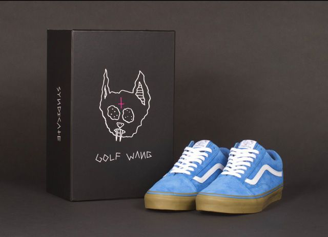odd future tyler vans 9 Tyler, the Creator x Vans Syndicate Old Skool   Officially Unveiled