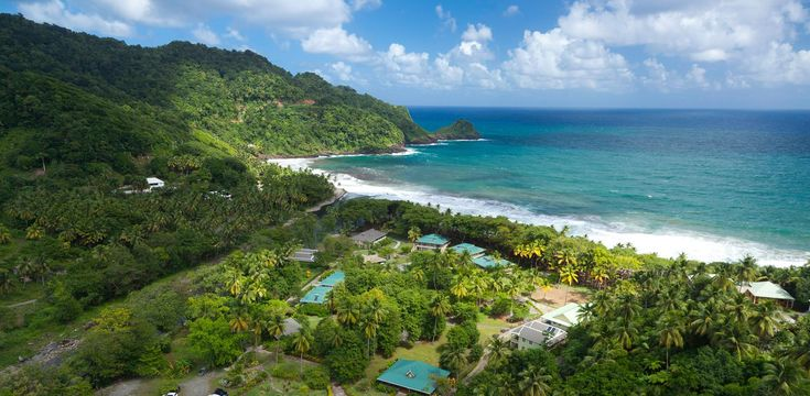 Rosalie Bay, Dominica.  Eco-boutique and wellness resort inspired by nature
