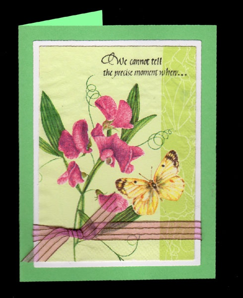 Quietfire Creations: We Cannot Tell - Napkin cards