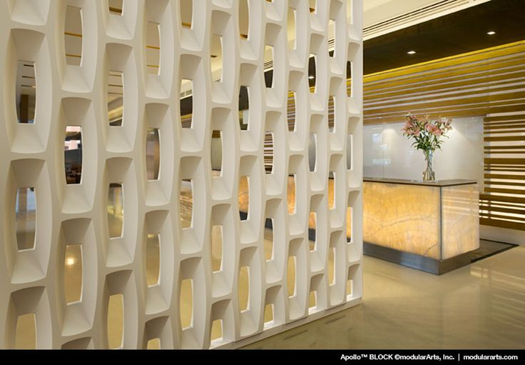Apollo By ModularArts, Inc.Sculptural Screen Walls Highly