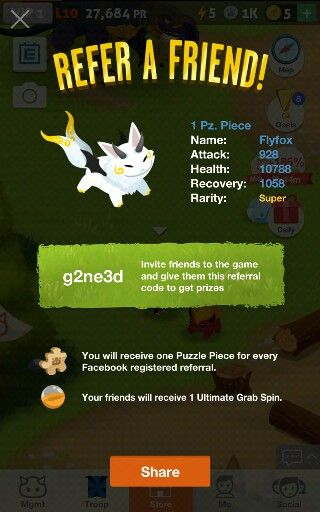 You guys should play battle camp it is amazing and so addicting and make sure you have the g2ne3d code