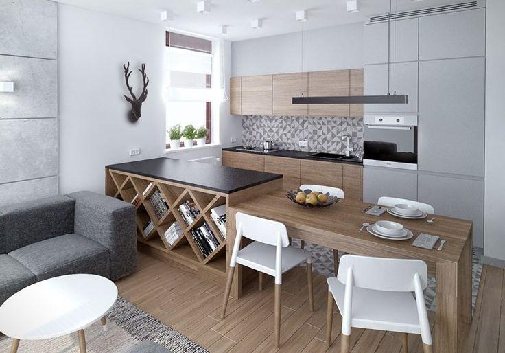 Oltre 1000 idee su plan de travail gris su pinterest meuble cuisine bois m - Plan travail pierre reconstituee ...