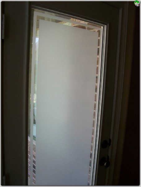 Cream Frosted Window Film- I\u0027m thinking something like this for the sliding doors & 209 best Frosted windows and doors images on Pinterest | Frosted ... Pezcame.Com