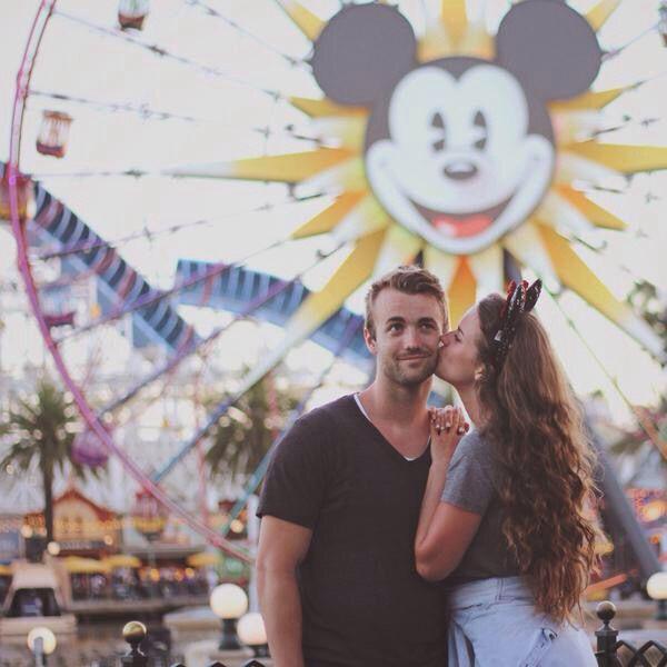 Kenzie Nimmo & Harris Heller❤️--- go to Disneyland with my husband/best friend
