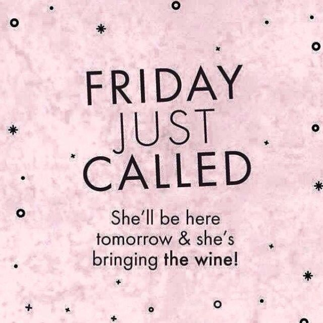 Almost Friday!