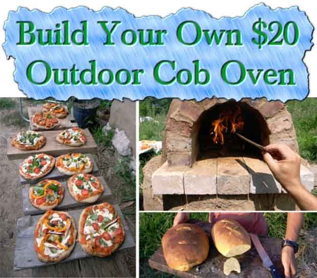 How To Build Your Own $20 Outdoor Cob Oven