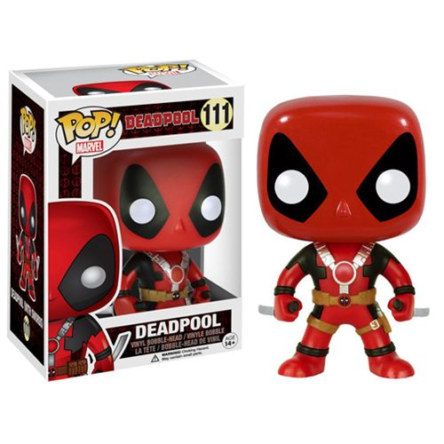 Deadpool with Two Swords Pop! Vinyl Figure - Funko - Deadpool - Pop! Vinyl Figures at Entertainment Earth