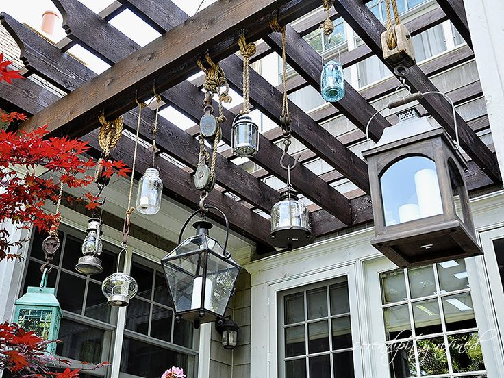 Serendipity Refined: Pottery Barn Inspired Patio Lantern Project