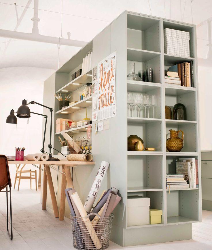 Smart kök med rumskänsla – Marbodal Arkitekt plus lingrön — Marbodal