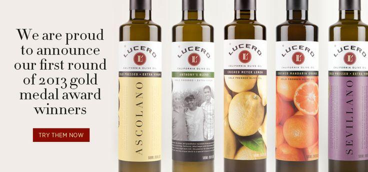 Lucero Olive Oil, www.lucerooliveoil.com