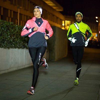 Running_Zubehör Running (KALENJI) - retroreflektierende Handschuhe KALENJI - Laufbekleidung