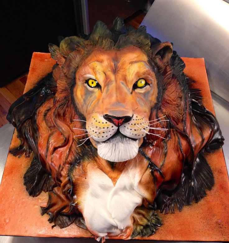 Lion Birthday Cake If my brother Dean was alive this would be perfect.
