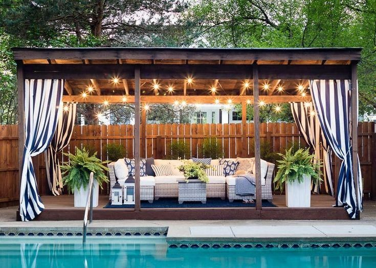 Delightful Pool Water Make Sure You Visit Our Commentary For Way More Suggestions Poolwater In 2020 Pool Gazebo Simple Pool Backyard Cabana