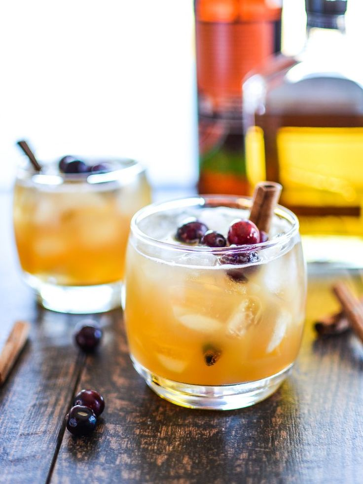 These apple, pumpkin beer cocktails are definitely in season.