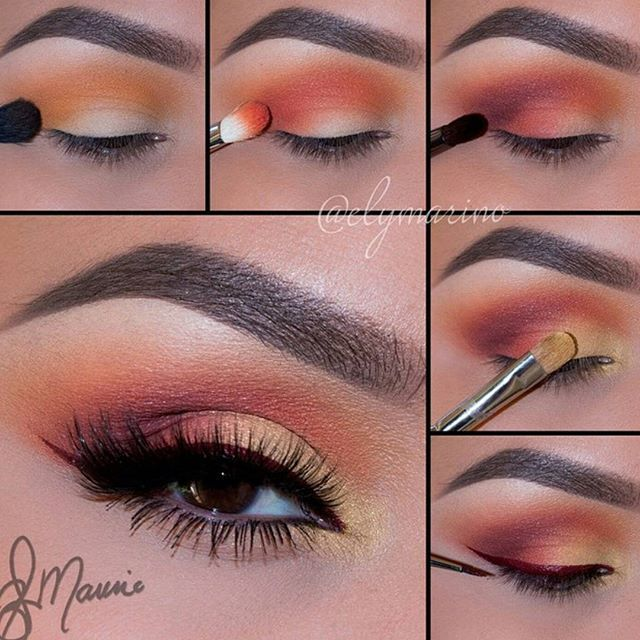 Gorgeous colors❤#makeupartist #makeuplover