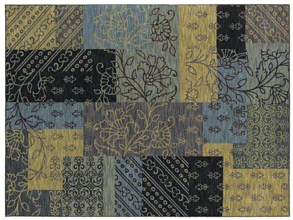 AreaRug Salina - 3VE56 - Blue - Flooring by Shaw
