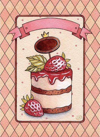 Схема вышивки «Тортик» - Схемы