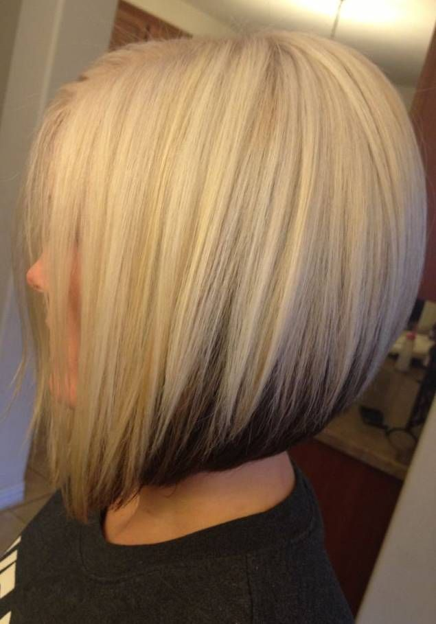 Bob hairstyles with blonde hair color