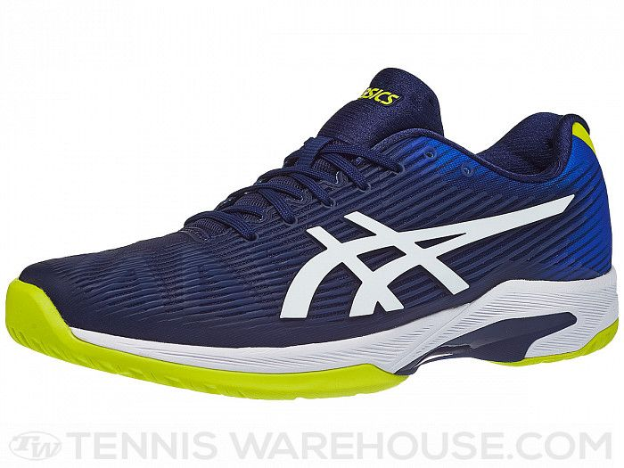 Asics Solution Speed FF BlueYellow Men's Shoes in 2020