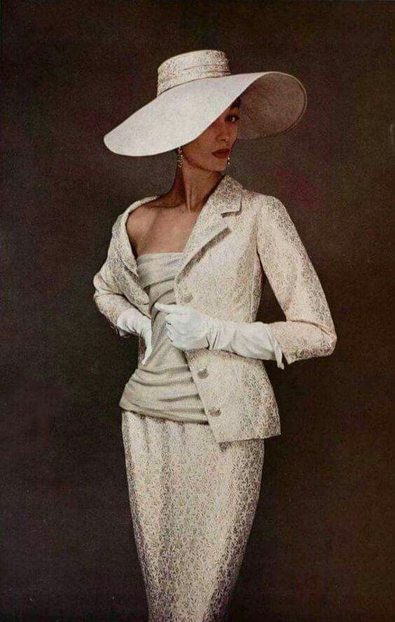 Dior, 1955                                                                                                                                                                                 More